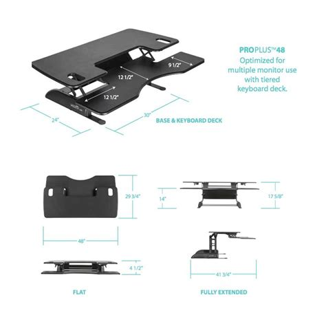 Varidesk Pro Plus 48 by 17 Best Images About Sit Stand Solutions On