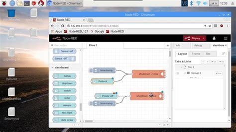 node red shutdown command  raspberry pi youtube