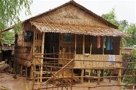 Traditional Construction In Burma