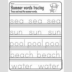 Irresistible Summer Worksheets Pdf Printables For Prek And Kindergarten