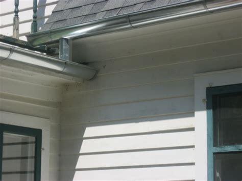 Galvanized Steel Rain Gutter Contractors Installation