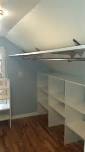 closet rod brackets angled ceiling mount inspirations