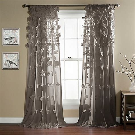 decorative curtains drapes lush d 233 cor 84 inch rod pocket window curtain panel