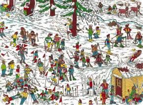 Where's Waldo Ski Slopes