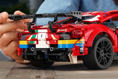 """The link to lego speed champions ferrari f8 tributo 76895 has been copied. LEGO Technic (42125) Ferrari 488 GTE """"AF CORSE #51 ..."""
