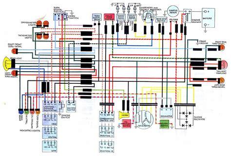 honda cbk electrical wiring diagram circuit wiring