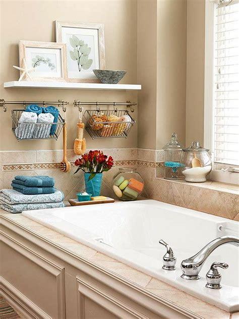 Decorating Ideas Tub Surround by 20 Neat And Functional Bathtub Surround Storage Ideas 2017