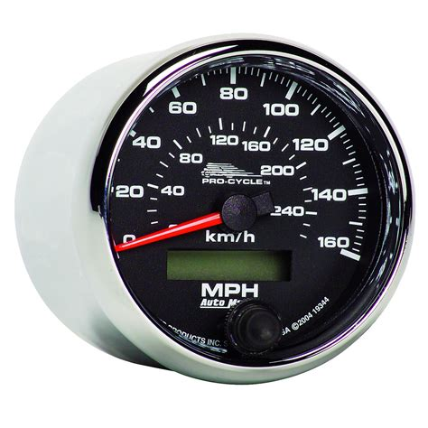 260 Kmh In Mph by 2 5 8 Quot Speedometer 0 160 Mph Electric 0 260 Km H Black