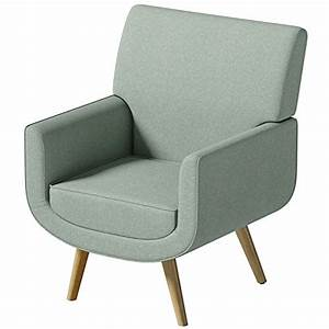 Yves Chair ONLY Sage Green Accent Easy Fabric Armchair