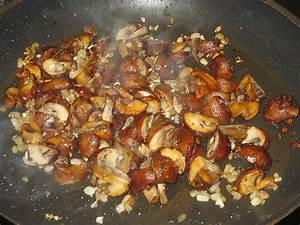 Shiitake Pilze Braten : gebratene pilze mit speck und zwiebeln rezept mit bild ~ Watch28wear.com Haus und Dekorationen