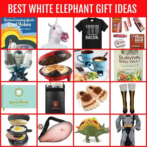 white elephant gifts funny  diy ideas