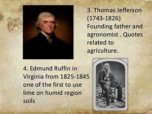 Historical back... Soil Science Quotes