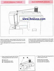 Brother Vx 1100 Sewing Machine Threading Diagram