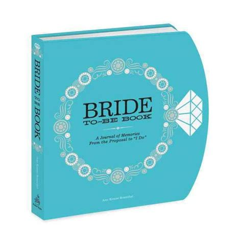 Bridetobe Book A Journal Of Memories From The Proposal