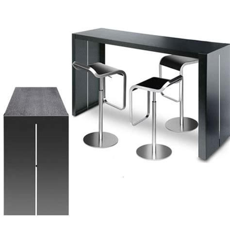 table de cuisine bar haute table haute bar extensible uteyo