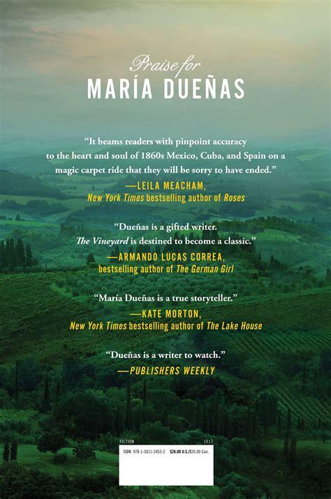 vineyard book  maria duenas official publisher