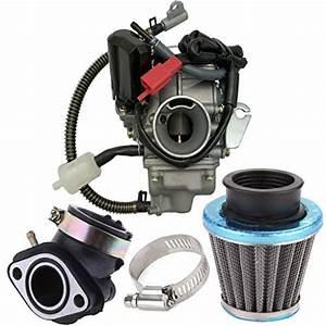 150cc Carburetor For Gy6 4 Stroke Engines Electric Choke