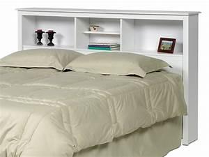 Tete De Lit Blanche : tete lit avec rangement accueil design et mobilier ~ Premium-room.com Idées de Décoration