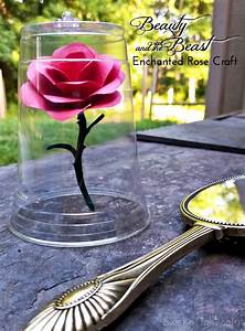 disney crafts for and the beast enchanted