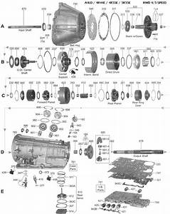 Ford A4ld Transmission Parts Diagram  Ford  Free Engine