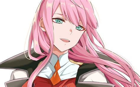 Download 2560x1600 Zero Two Darling In The Franxx Wallpapers For Macbook Pro 13 Inch