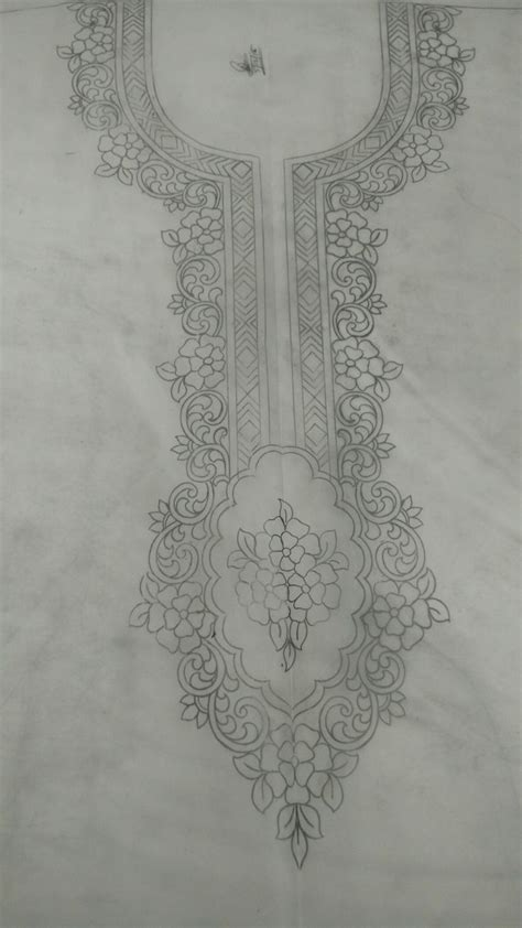 image associee hand embroidery designs embroidery neck