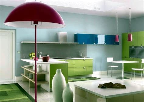 kitchen design styles colored high gloss kitchen for an individual living style 1371