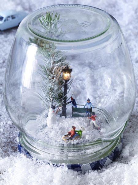 Winterlandschaft Selber Basteln by Diy Tipp S 252 223 E Schneekugeln Weihnachten Schneekugel