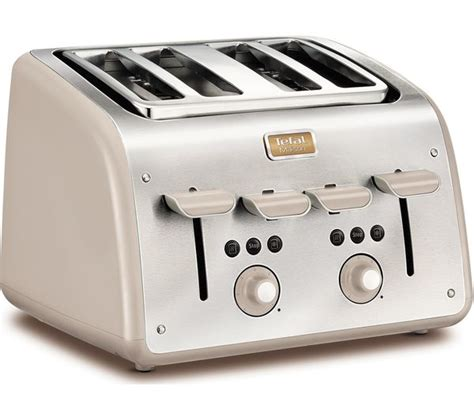 tefal toasters uk buy tefal maison tt770auk 4 slice toaster stainless