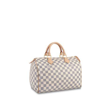 speedy  damier azur canvas handbags louis vuitton