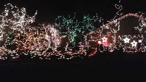 christmas lights bishop hills amarillo youtube