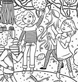 Coloring Pages Birthday American Doll Party Magazine Special Colouring Printable Julie Dance Games Three Happy Wallpaperzoo Clipart Pony Rocks January sketch template