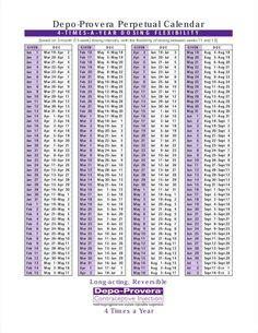 depo calendar  schedule calculator calendar