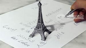 eiffel tower 3D Drawing | Fine Art | Stefan Pabst - Artist.com