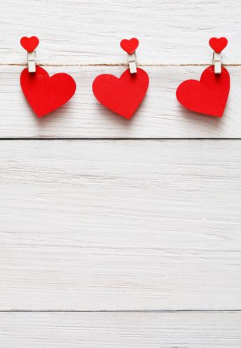 valentine day background paper hearts border  wood copy