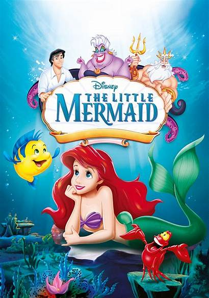 Mermaid Disney Poster Movies Film Peliculas Sirenita