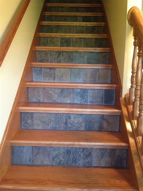 Replacing the carpet on stairs with a fresh look   Great