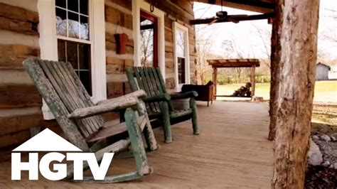 log cabin renovation  tennessee