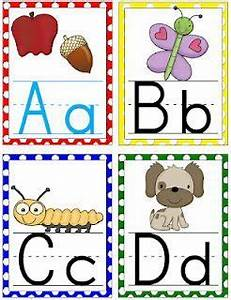 large polka dot alphabet cards for your classroom free With abc letters for classroom