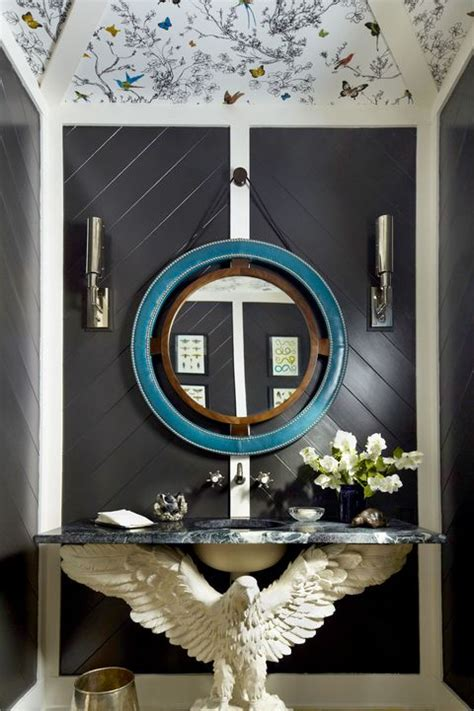 bathroom wallpaper ideas   inspire