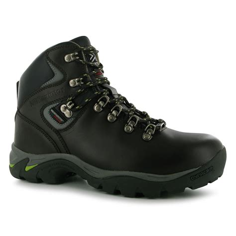 karrimor womens skido boots lace up hiking leather walking footwear ebay