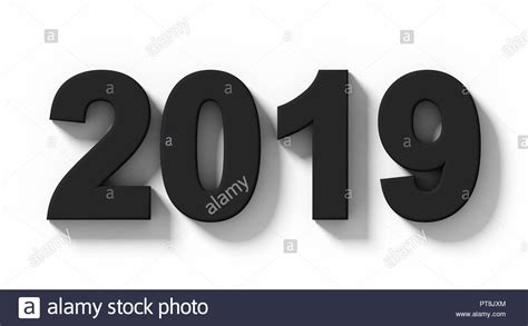 Year 2019 Cut Out Stock Images & Pictures