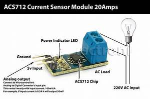 Sensors    Other    Current Measure Module Up To 20a