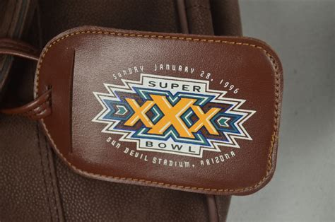 Lot Detail Super Bowl Lot Of 3 Collector Bags