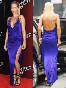 Rita Oras 'the Voice Uk Dress — Flashes Cleavage In