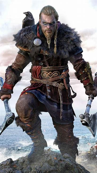 Creed Valhalla Assassin 4k Ultra Mobile Wallpapers