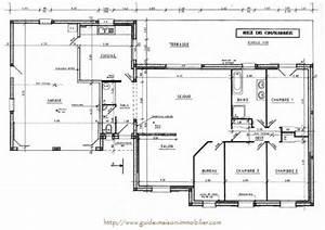 Plan Grande Maison : plan de maison idee ~ Melissatoandfro.com Idées de Décoration