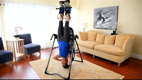 How To Exit Full Inversion On Your Inversion Table Youtube