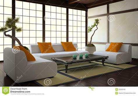 l japanse stijl interior in japanese style stock illustration