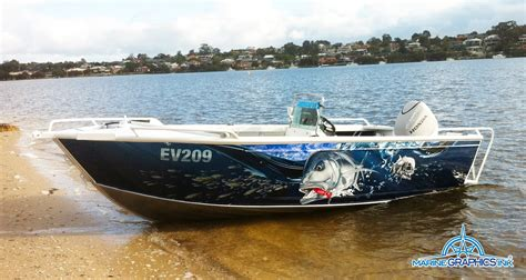 Boat Graphics by Gt Wrap In Wa